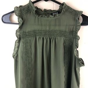 🌻3/$25 Ana a new approach olive green blouse